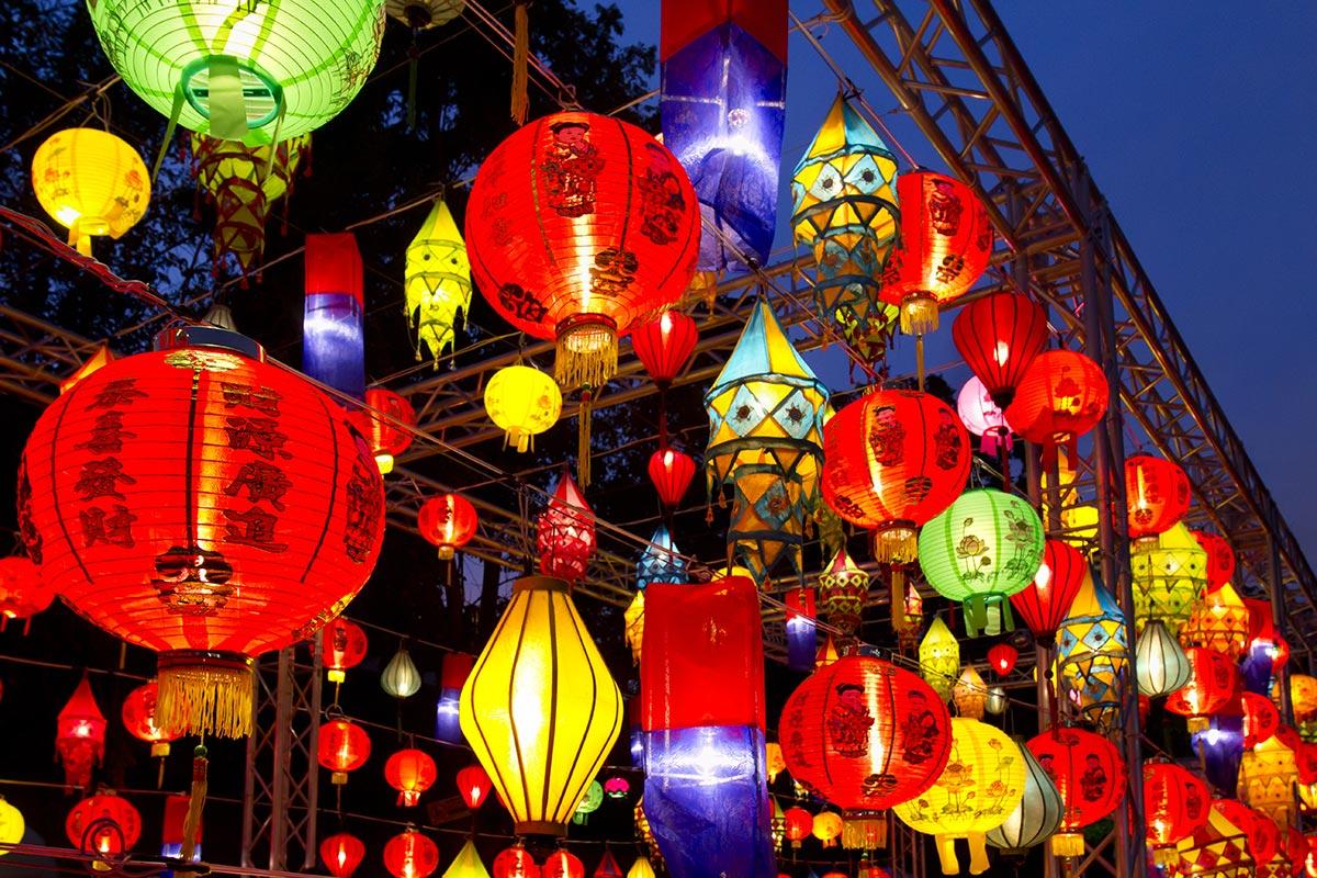 Festivals à Hong Kong (lanternes)