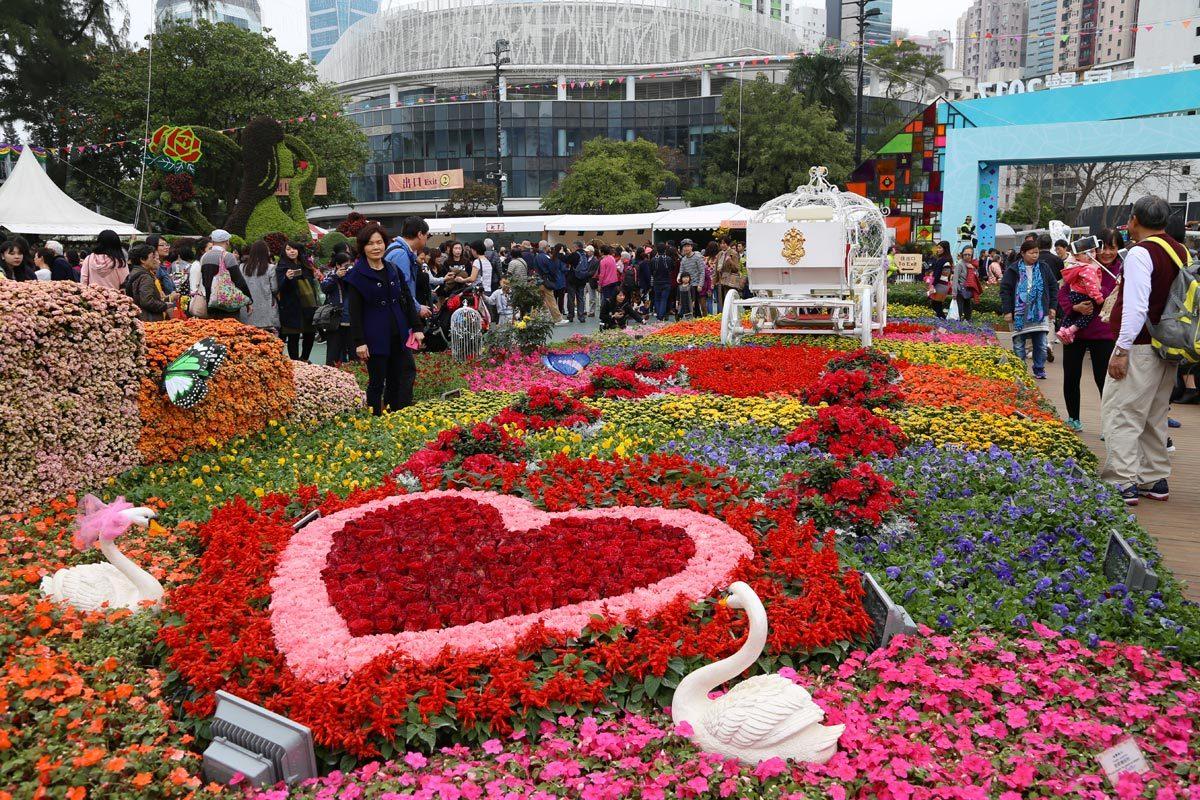 Festival des fleurs à Hong Kong
