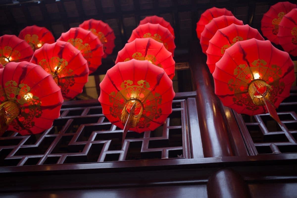 Festival des lanternes à Hong Kong