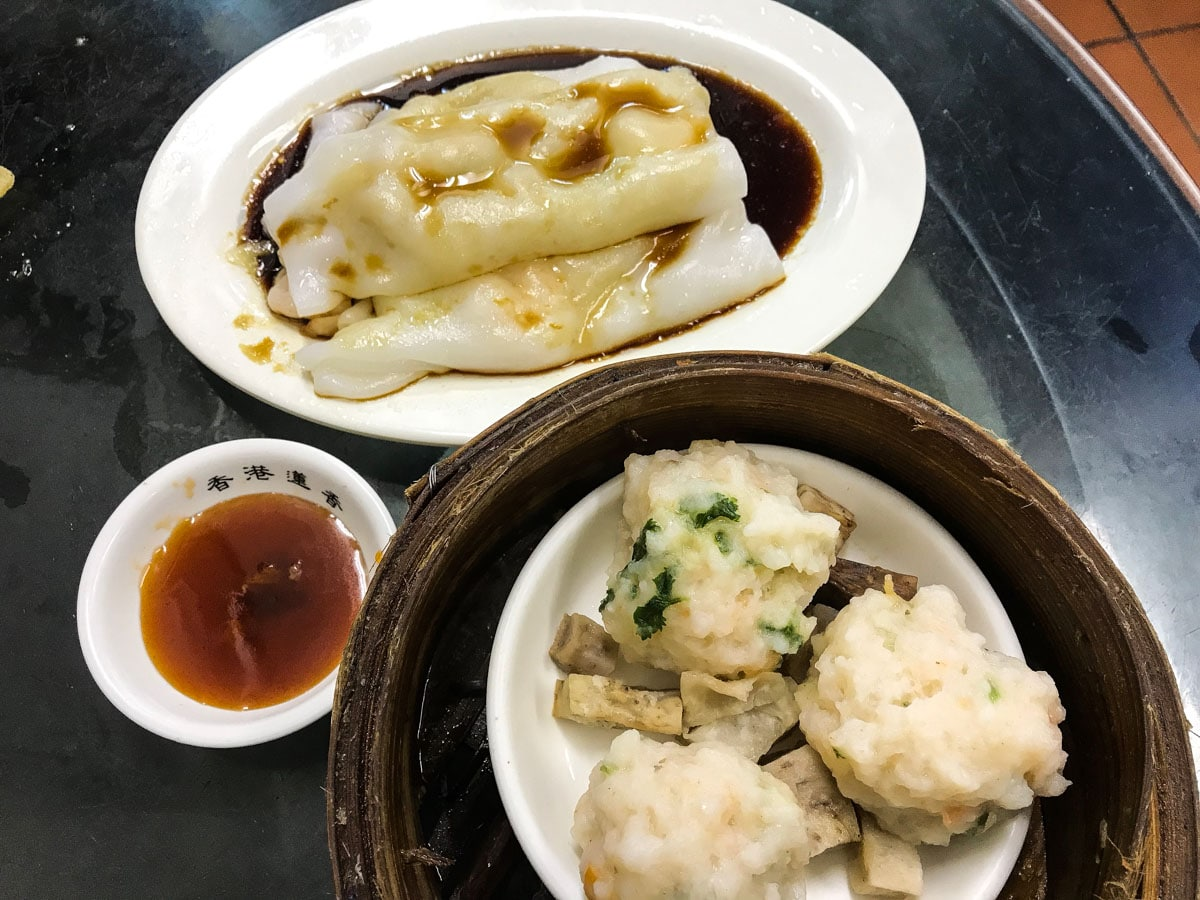 Dim Sum au Lin Heung Kui à Hong Kong