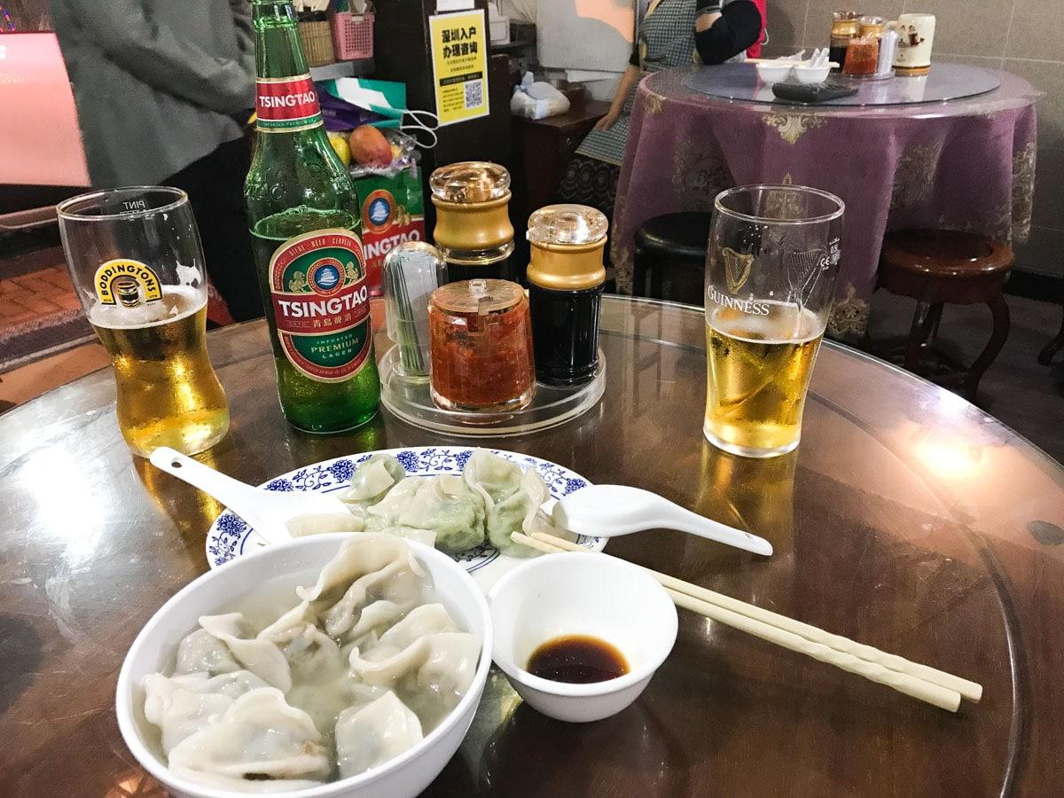 Plat au Peking Dumpling Wong